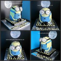 3D Minion cake by 0970jackie