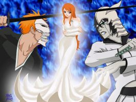 Orihime as Queen by dmstei00