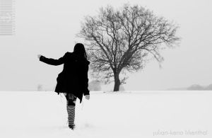 Only the snow ... by CandyStarchild