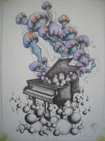 piano plus jellyfish by pennywise988