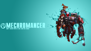 Borderlands 2 Mechromancer Wallpaper by CodyAWilliams