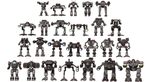 Clan Mech List by FJ4