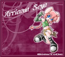 ARRIEANA SEYA.my original girl by B0RN-T0-DIE
