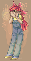 MLP: Applebloom is a cutie by TheKnysh
