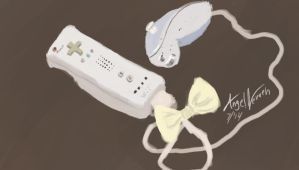 Wii remote study by Angel-Neviah