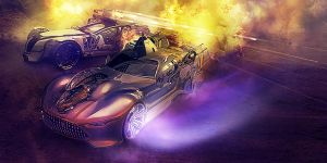 Battle of the cars by Keleus