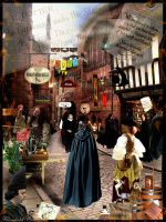 Diagon Alley by Filmchild