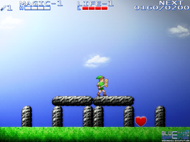 Zelda II HD 08172013 by BLUEamnesiac