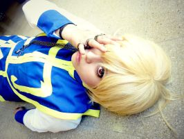 Kurapika Cosplay by SakuHarunoo