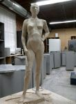 "24"" Women Sculpture by DotInMotion"