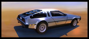 Delorean by MeckanicalMind