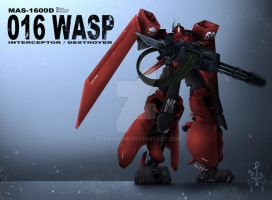 MAS-1600D WASP by CORNBREAK