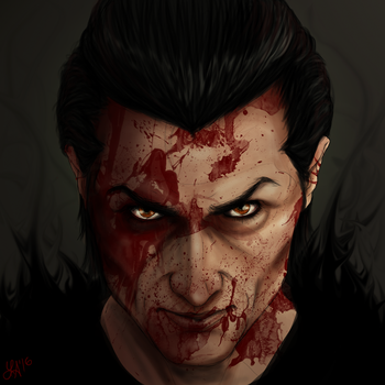 Hunger ~ Birthday Present for Jack by lisaarevalo