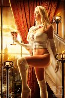 Emma Frost by the Window by jaytablante