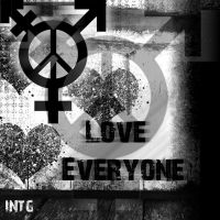 Love Everyone Dammit by D2Krazy