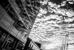 Navy Pier Abstract by GetDIntegrated