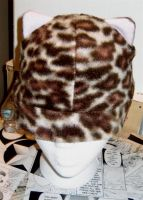 Leopard Kitty hat by LunarJadeStyles