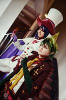 Ao no Exorcist: Amaimon and Mephisto by general-kuroru
