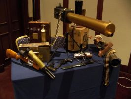 Steampunk Arsenal by Leadmill