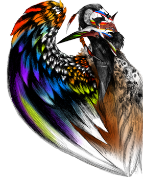 Fur and Feathers -ReColored by ForestWanderers