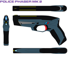 Police Phaser Mk 2 Blue by bagera3005