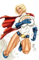 Power Girl by Marcio Abreu by pixeltease