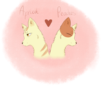 Apricot and Peaches by Paws-of-Harmony