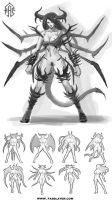 Succubus by FASSLAYER