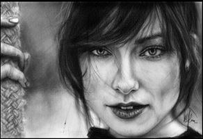 Olivia Wilde II by peacexofxart