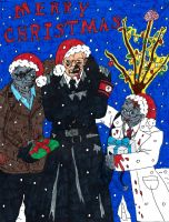 Merry Christmas From Dead Snow by rockofmarduk