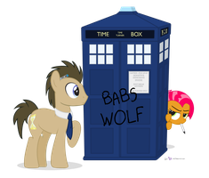 Doctor Whooves in 'Babs Wolf' by dm29