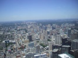 View from CN Tower by Carnage-Alchemist