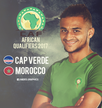 Caf African Qualifiers 2017: Cape Verde - Morocco by Abdessamad-zak
