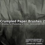 CrumpledPaperBrushes02 by AscendedArts