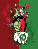 Harley and Ivy by Sideways8Studios