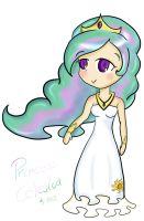 Humanized Princess Celestia by NekoPau