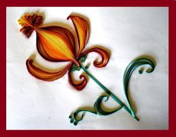 Quilling - Flower by Rajlakshmi