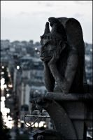 Paris - ND Gargoyle by chemicalflaw