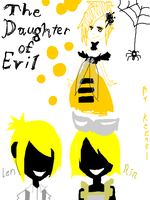 Rin Len  The Daughter Of Evil by keznel