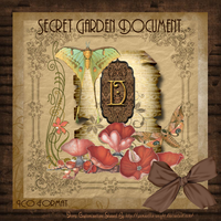 Secret Garden Document II by TheAngeldove