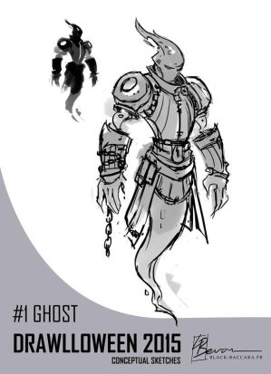 DH1 ghost by laurabevon by LauraBevon