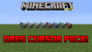 Minecraft Ores Cursor Pack by dakotaatokad