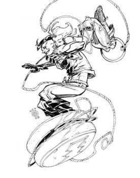 MADMAN and JOE_commission by EricCanete