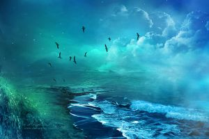 Ocean by AngeliaArt