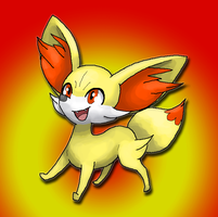 Fennekin by SuperiorDragonFan