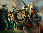 Warriors of the Dawn by 7THeaven