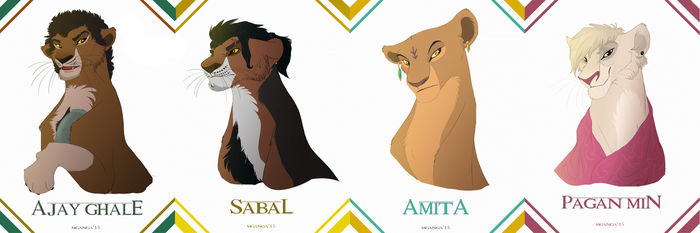 FarCry4 Characters in TLK by Mganga-The-Lion