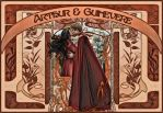 Arthur and Guinevere WP by Nero749