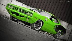 1971 Cuda by AmericanMuscle