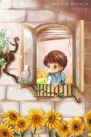 the Boy and the Bird by Toriichi